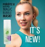 magic bubble mask aloe vera